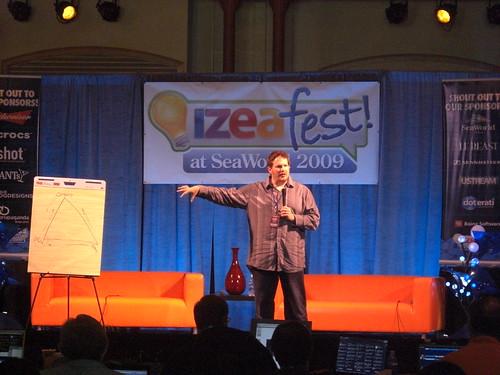 Chris Brogan at IZEAfest 2009