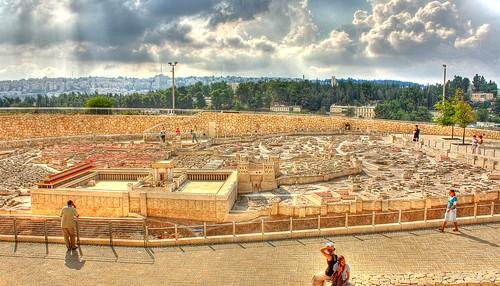 Jerusalem Model (HDR) 1