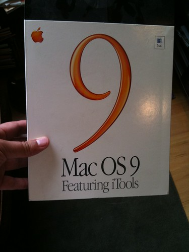 Mac OS 9 box