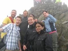 Paul, Lee, Gaz, Fran, James, Kirti & Laura