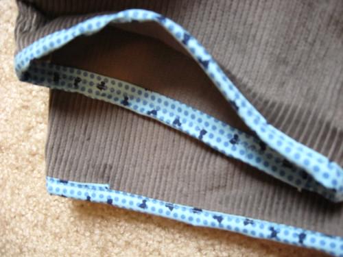 overalls-cuffs detail
