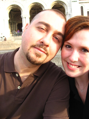 Kirk and I - Steps of Sacre Coeur