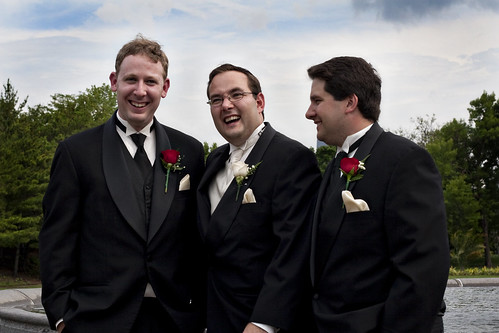 Alex and Groomsmen