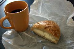 stumptown coffee, brooklyn bagel