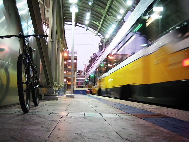 Red Line At Mockingbird Station