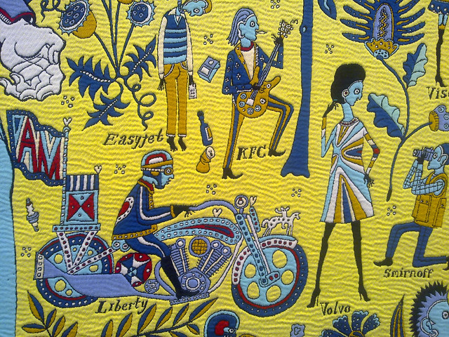 Grayson Perry: The Walthamstow tapestry, 2009 (detail)