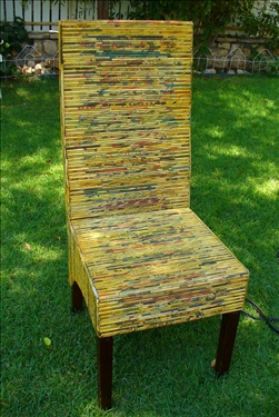 paper cane chair