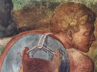 Dettaglio dalla Conversione di Saulo