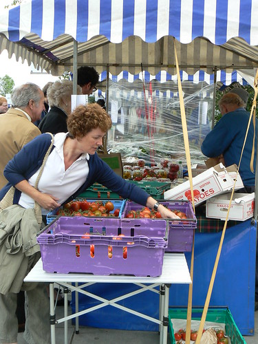 Edinburgh Castle Terrace Farmers Market