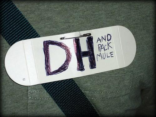 DH pack mule