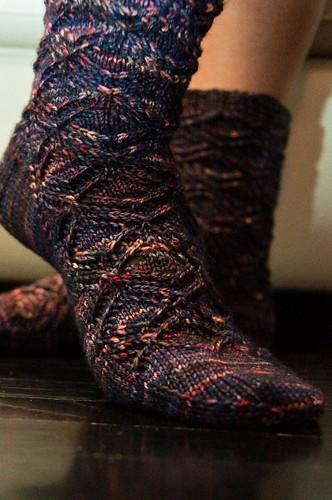 Devon Socks - FINISHED