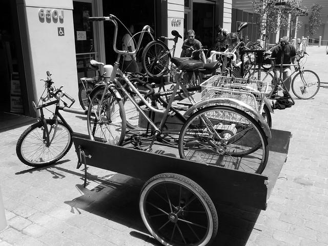 Bike Trailer Full Of Trike