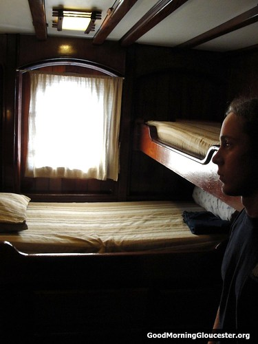 Sleeping Quarters Aboard The Barquentine Peacemaker