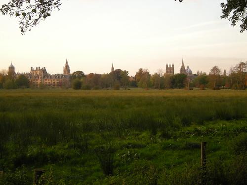 Blick vom University Garden auf Oxford 2