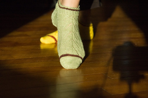 padded footlets (by bookgrl)