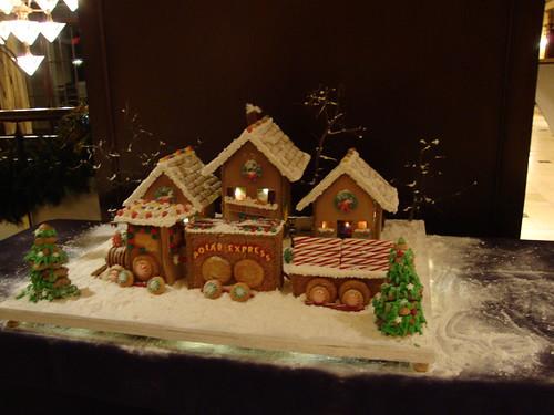 Gingerbread Houses At Ross Bridge Hotel, Birmingham AL