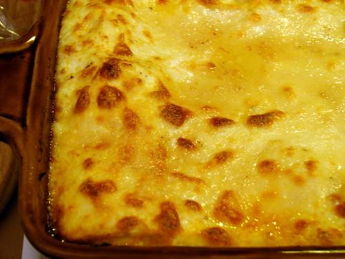 lasagna, resting
