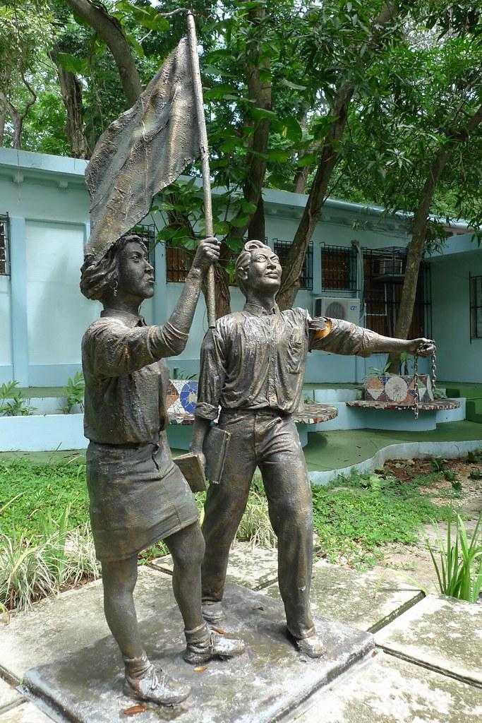 Monumento a las juventudes luchadoras