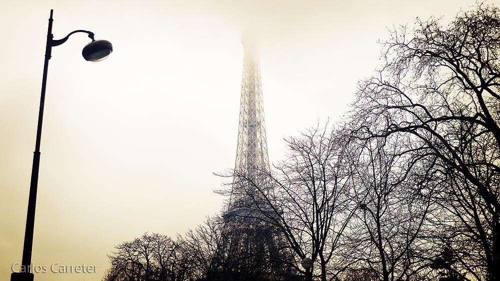 Tour Eiffel desde los jardines de Trocadero