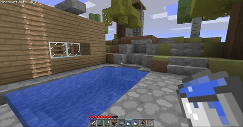 Minecraft - Building the Waterfall
