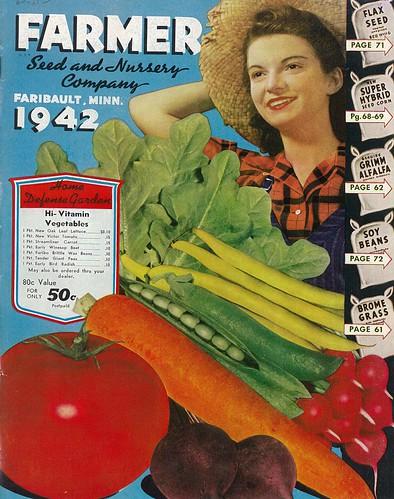 Farmer Co Defense Garden Catalog 1942