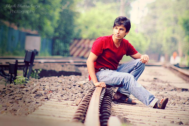Adi on the track | Portfolio