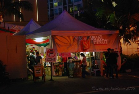 Global Pinoy Bazaar at the Rockwell Tent