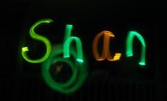 Fun with glow sticks