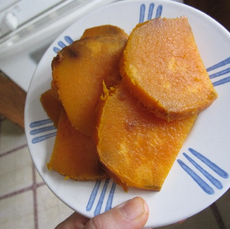 Cold Sweet Potatoes