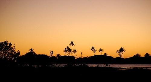 Sunset Over Paiko Lagoon