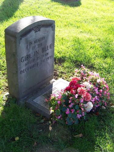 In memory of the girl in blue