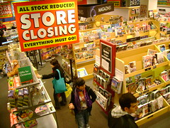 Borders to close 75 more stores next week Bookstore