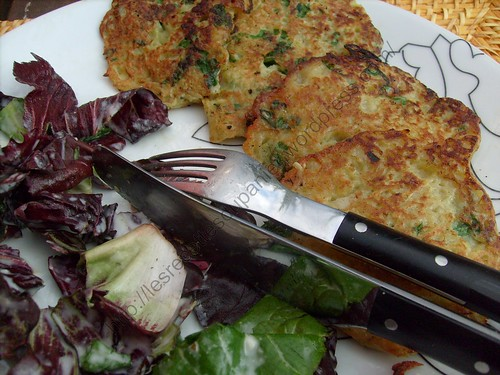 Galettes de pomme de terre / Potato pancakes / Grumbeerekiechle