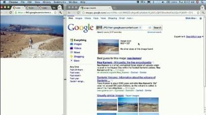 image search on desktop