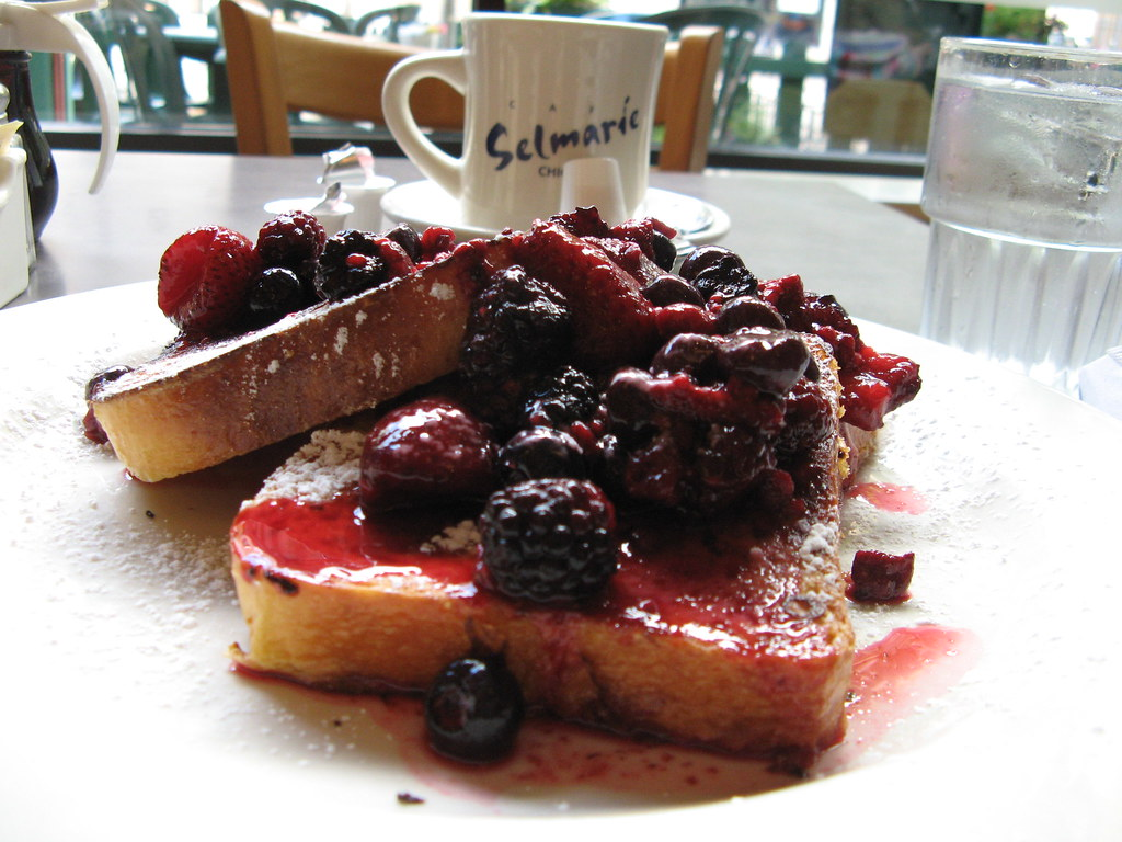 French toast from Cafe Selmarie. Photo by your host, Captain Awkward
