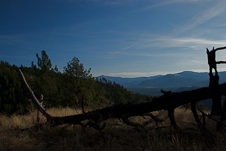 Overlooking the Clark Fork Valley