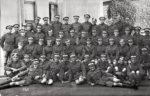 RFC Cadets June or July 1918 Hastings