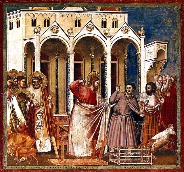Christ, the Pharisee whipper