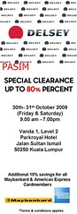 Delsey warehouse sales