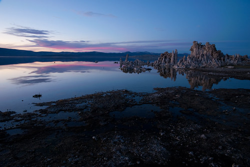 Mono Lake at sunset