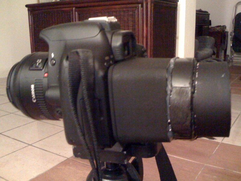 DIY Viewfinder side view