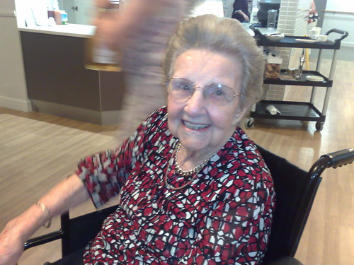Happy 99th birthday Grandma