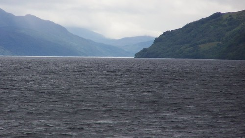 The glorious panorama of Loch Ness