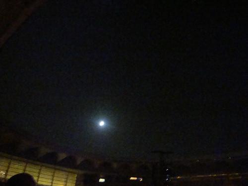 Sevilla Springsteen 09 La luna no se aprecia bien