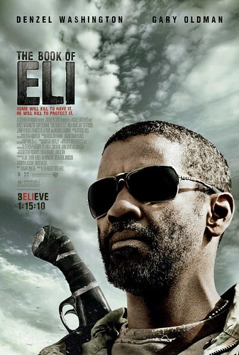 Book of Eli movie poster by moviegoodsposters.