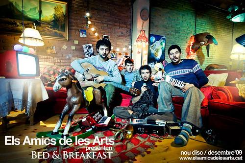 Mentre el Bed & Brekfast arriba aquest 1 de desembre, us deixem amb la llista de cançons que conté el disc.