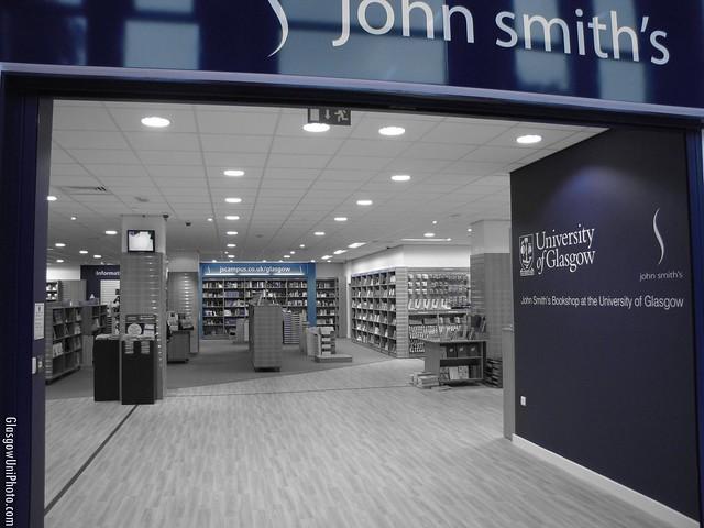 John Smith's Bookshop at the University of Glasgow