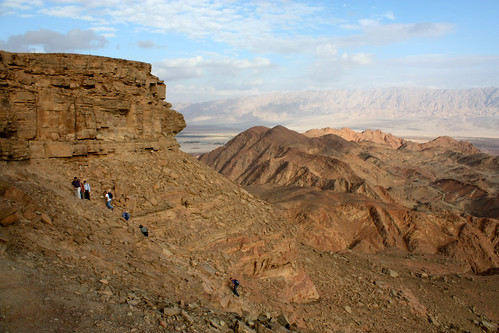 Ascent to the Timna Plateau