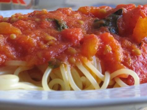 Spaghetti al pomodoro_6 by 10Rosso, on Flickr