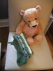 Dishcloths, also for my nieces wedding shower